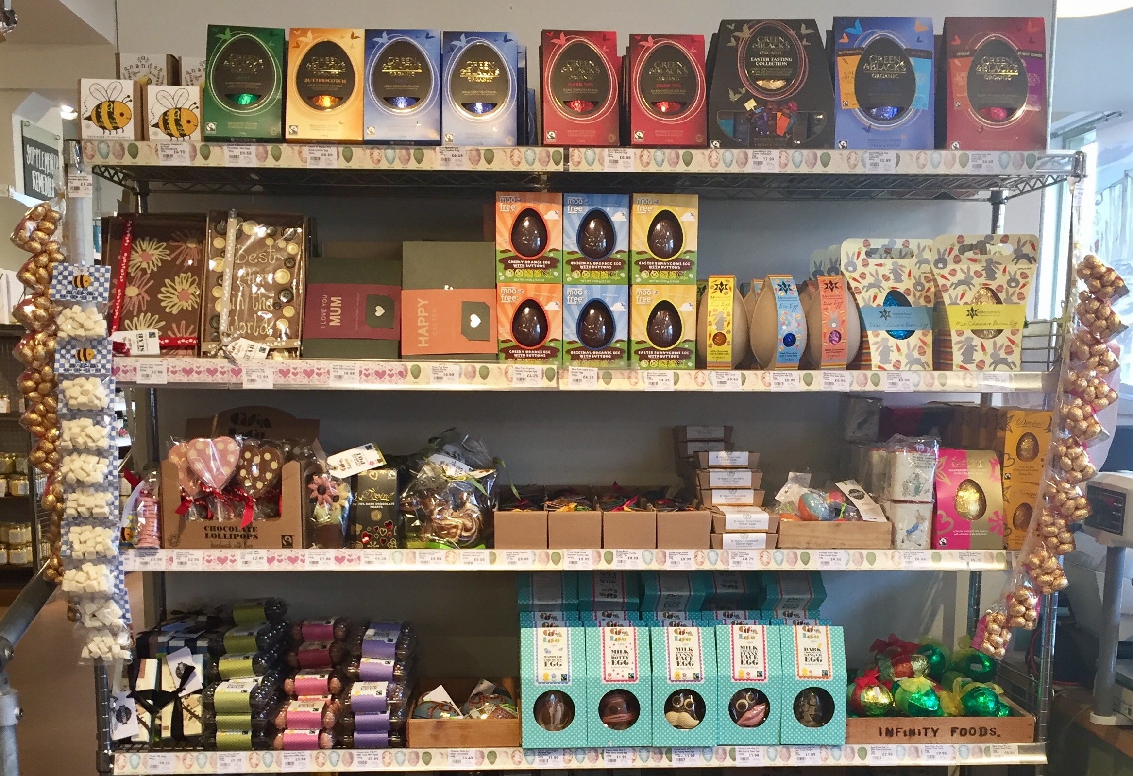 Easter gift buying guide vegan organic raw and fairtrade chocolate negle Images