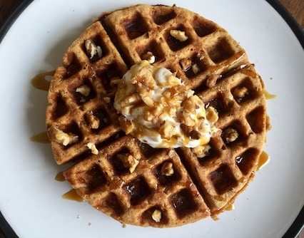 Easter waffles recipe