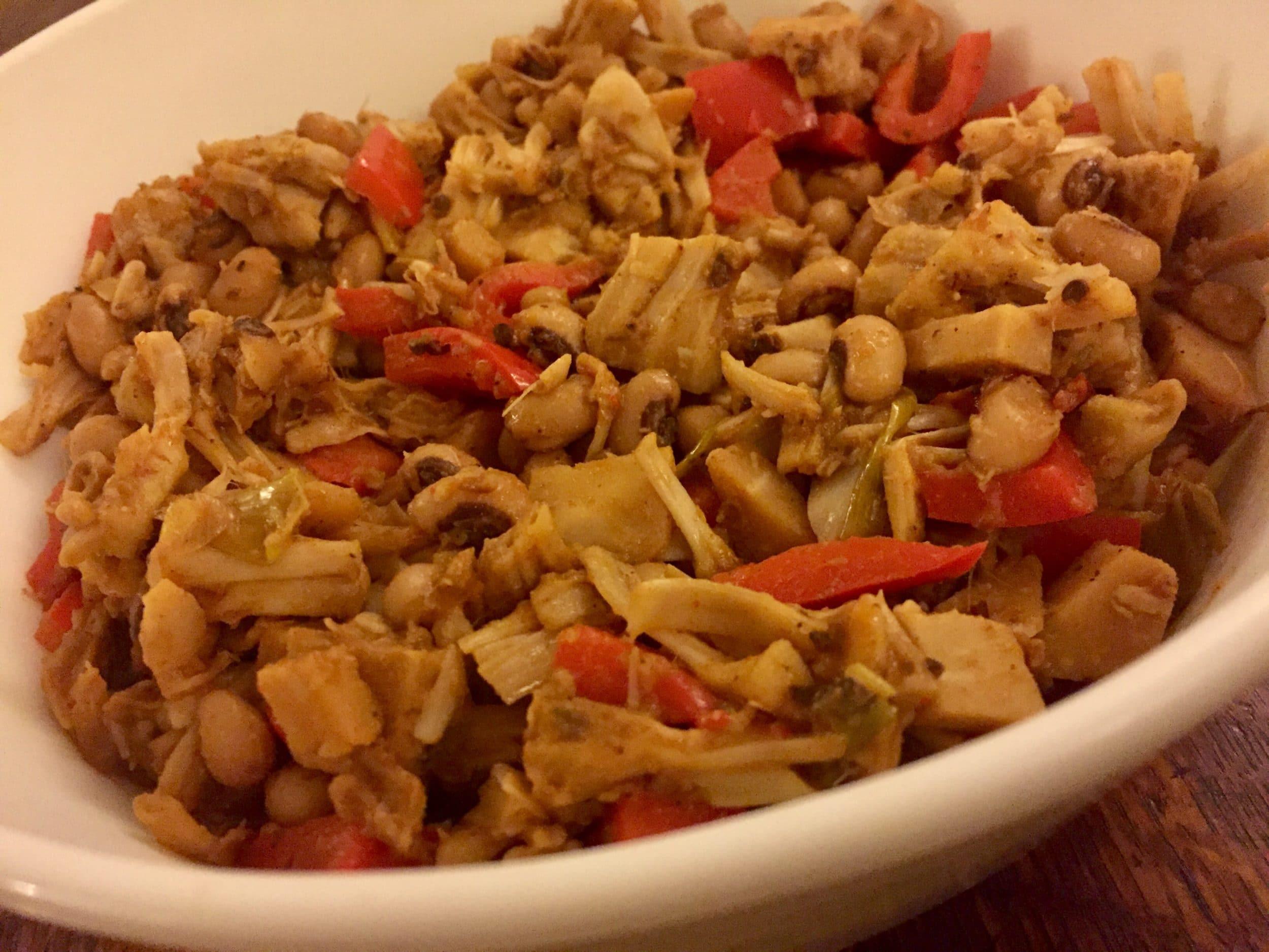 Jackfruit Taco meat filling