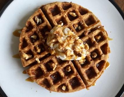 Easter waffles recipe